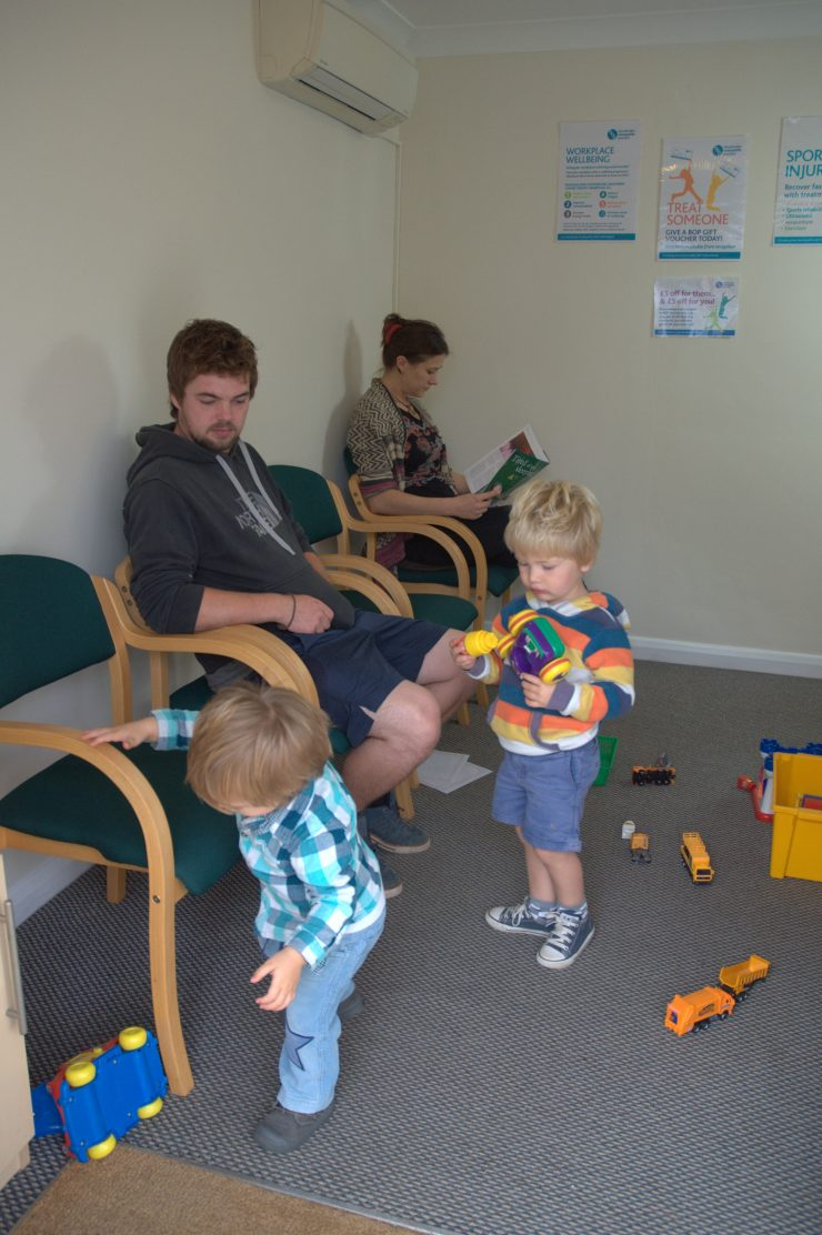 babies and children osteopathy