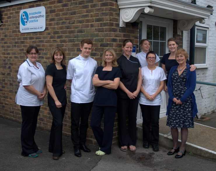 Broadwater Osteopaths Worthing West Sussex the team help with wellbeing and health